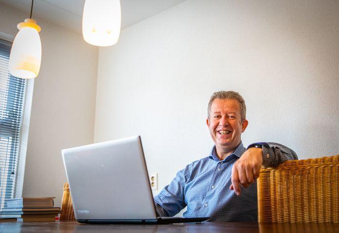 Puttershoeker Hans Kooijmans had bij zijn zoektocht naar nieuw contact succes dankzij videodating