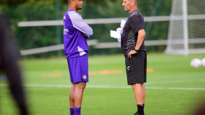 Anderlecht bakent de rollen af: Kompany vanaf nu de kapitein en leider óp het veld, Davies leider naast veld