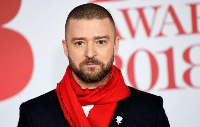 Justin Timberlake heeft alweer last van zijn stembanden.