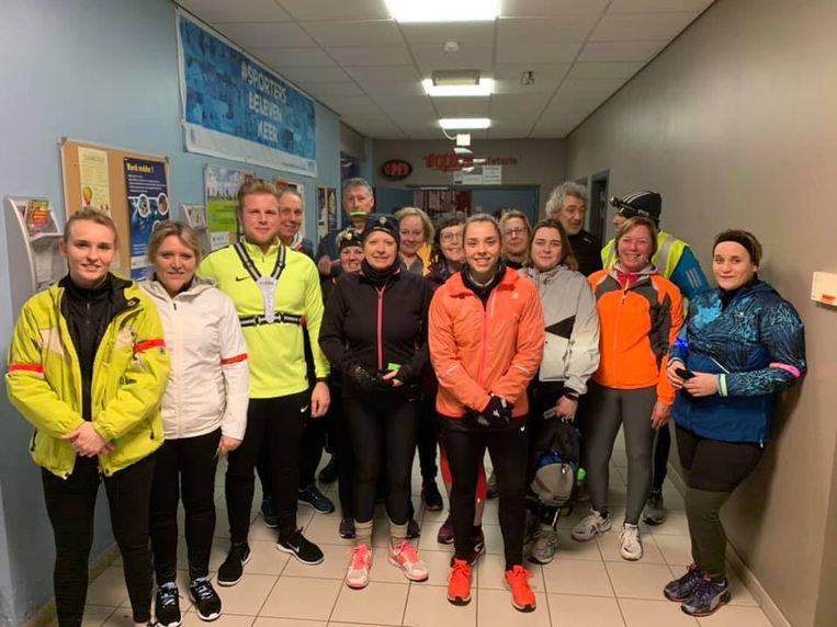 Met zestien deelnemers was de eerste editie van start 2 run in Zelzate een succes.