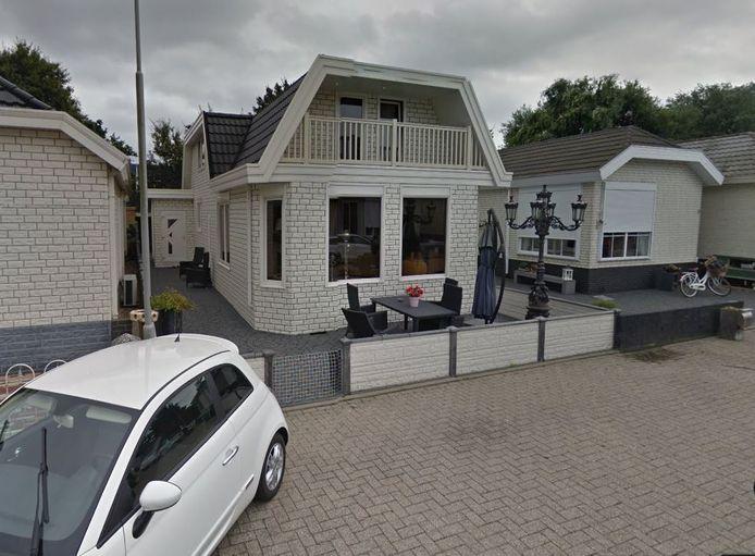 Het woonwagenkampje aan de Groningensingel in Arnhem-Zuid.