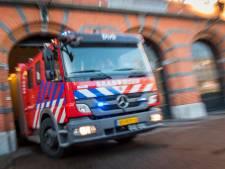 Bestelbus in brand op A15 bij Gorinchem, weg is weer vrij