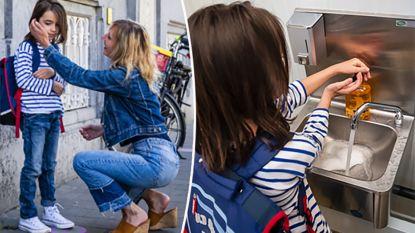 """Journaliste Anke bracht vandaag haar zoontje Lex (7) naar het 'nieuwe normaal'-klaslokaal: """"Waarom is het hier zo stil?"""""""