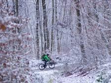 MTB d'HuZes over Lemelerberg afgelast vanwege sneeuwval