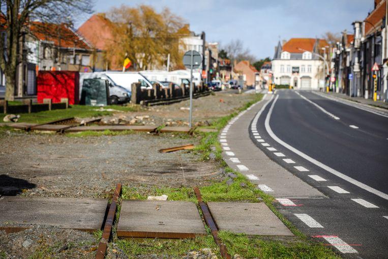 Er komt een fietspad op de voormalige trambedding in Lombardsijde