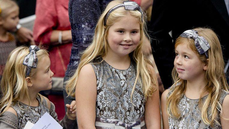 rinses Amalia, de oudste dochter van koning Willem-Alexander en koningin Maxima, wordt vandaag 10 jaar oud. Beeld ANP