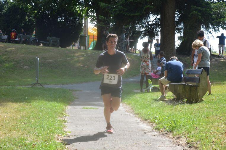 De jogging van 'Dwars door Neigembos' had succes.