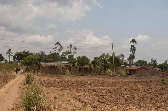 Een dorp in de buurt van Mulanje waar de jagers toesloegen.