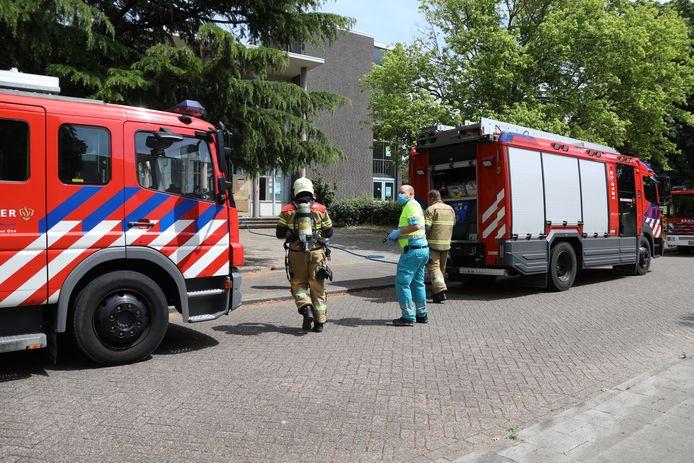 Er werd één persoon nagekeken in de ambulance, maar deze bleek niet gewond te zijn.