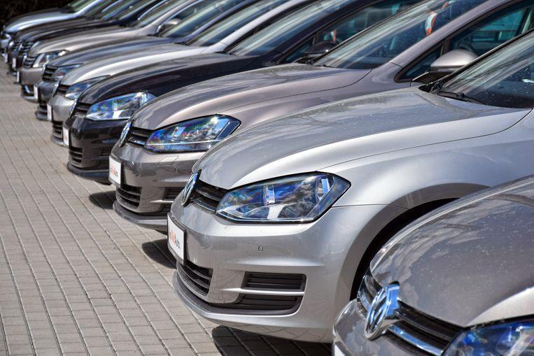 Volkswagen is veruit het populairste merk, gevolgd door Renault en Peugeot.