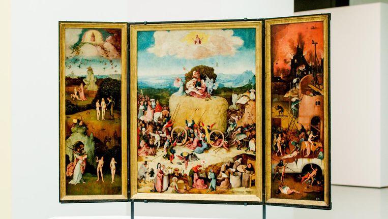 De Hooiwagen van schilder Jheronimus (Jeroen) Bosch Beeld anp