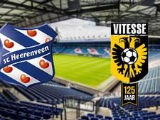 Heerenveen zonder geschorste Thorsby tegen Vitesse