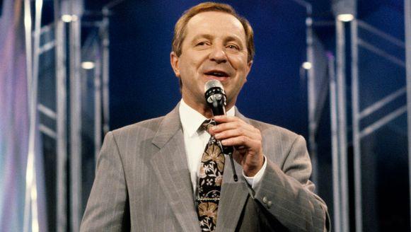 Walter Capiau als presentator van 'De Kinderacademie' in 1989.