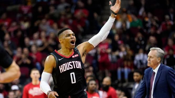 Grote ruildeal in NBA: Westbrook verlaat Houston voor Washington, Wall maakt omgekeerde beweging