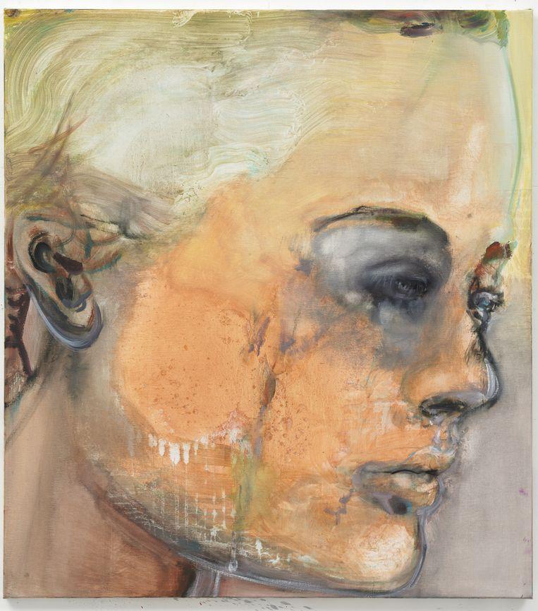 Sad Romay van Marlene Dumas uit 2008. Beeld Peter Cox