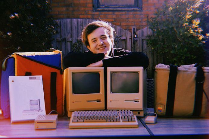 Nick vond zijn eerste Apple-pareltje vier jaar geleden in Nijmegen.