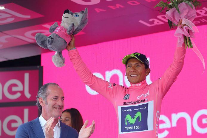 Quintana droeg drie dagen het roze, maar in Milaan moest hij dat finaal afstaan aan Dumoulin.