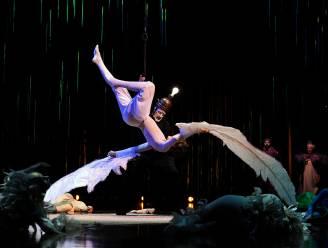 Slechte timing: Weer ongeval tijdens show Cirque du Soleil