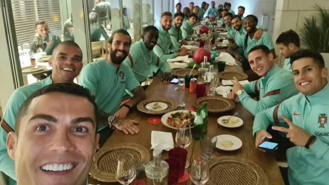 Besmette Ronaldo keert terug naar Italië, hele selectie Juventus opnieuw in quarantaine