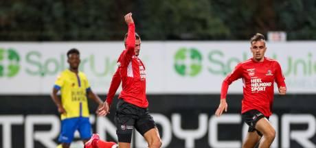 Helmond Sport stort na rust volledig in en wordt van de mat geveegd door SC Cambuur