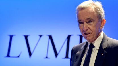 Luxekoning Bernard Arnault werd gisteren in één klap 3,7 miljard euro rijker. Zijn geheim: nooit solden