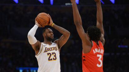 Kampioen Toronto beëindigt zegereeks van LA Lakers ondanks 85ste triple-double van LeBron