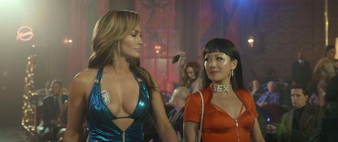 Jennifer Lopez et Constance Wu