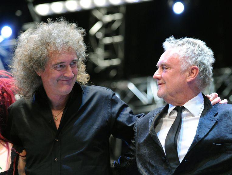 Brian May en Roger Taylor.
