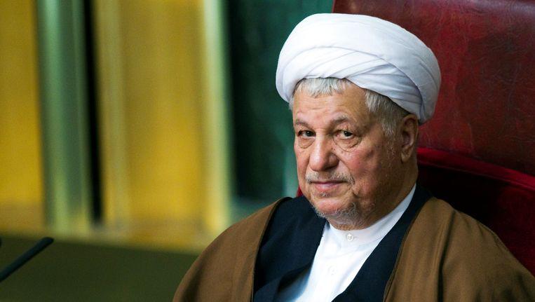 Akbar Hashemi Rafsanjani overleed op 82-jarige leeftijd. Beeld REUTERS