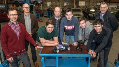 """VTI Roeselare mag als eerste en enige Belgische school naar het WK voor telegeleide wagentjes op waterstof: """"We dromen er nu al van om een Belgisch kampioenschap te organiseren"""""""