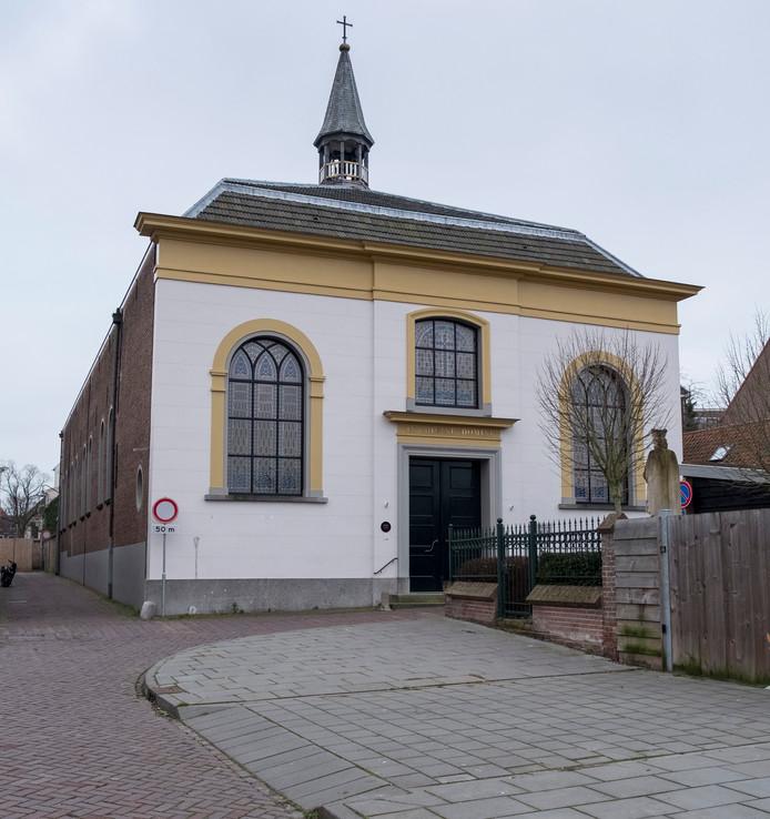 De katholieke kerk in Zierikzee