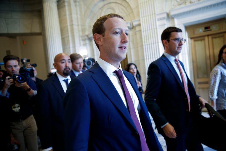 Mark Zuckerberg in Washington.