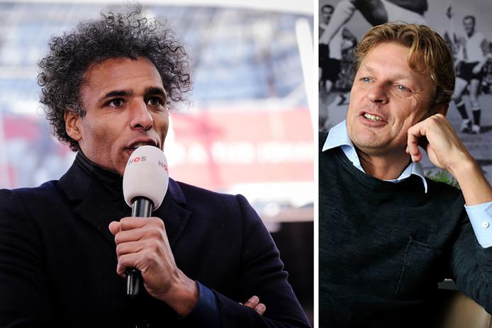 Pierre van Hooijdonk en Youri Mulder.