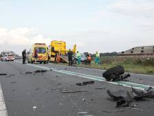 Gewonde en ravage bij ongeluk op N36