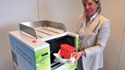 Deze vuilnisbak eet alles, behalve glas. Aalters bedrijf lanceert Superlizzy, de eerste vuilnisbak van het land die afval vermaalt