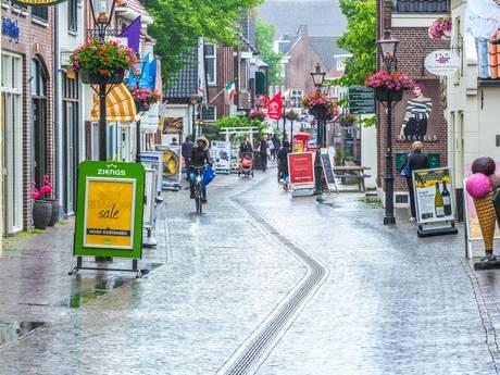 Ondernemers missen inkomsten Dorpsstraat