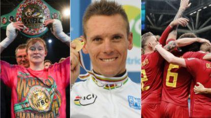 Persoon en Gilbert zijn úw sportvrouw en sportman van het decennium, Duivelse zege tegen Brazilië verkozen tot sportmoment
