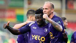 Beerschot viert rentree in de hoogste klasse met driepunter op het veld van Oostende, Noubissi scoort twee keer