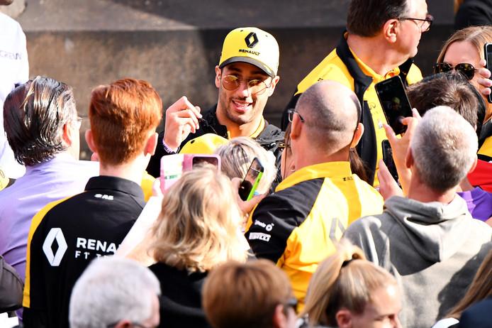 Daniel Ricciardo rijdt dit seizoen voor Renault.