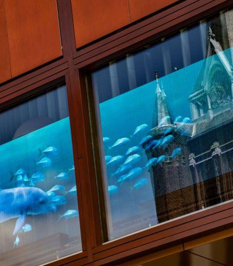 Straatbeeld: Tilburgse concertzaal als diepzeeaquarium