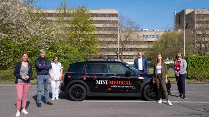 Mooie blijk van coronasolidariteit: Garage Smets stelt tijdelijk wagen ter beschikking van mobiel vroedvrouwenteam