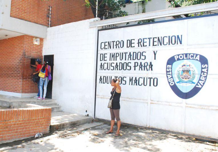 De gevangenis van Macuto, in de havenstad Vargas.