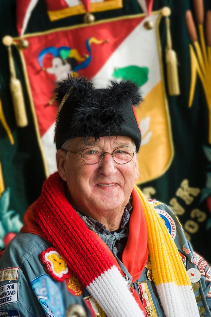 Ton van Stiphout, minister van Evenementen bij de Oeteldonkse Club
