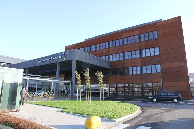 Het Jan Yperman ziekenhuis in Ieper.