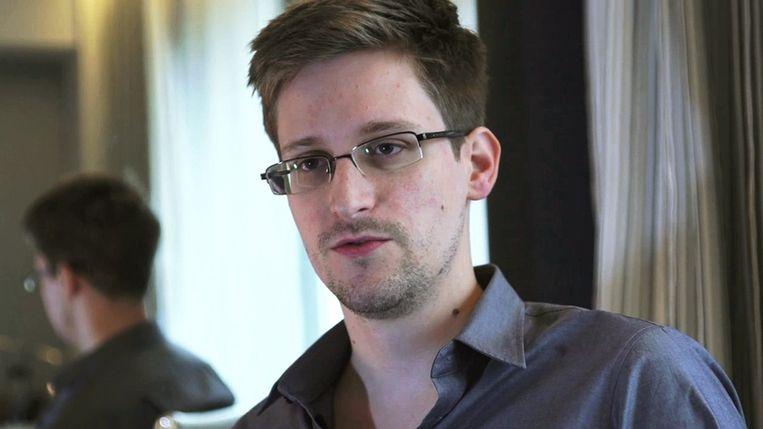 Klokkenluider Edward Snowden. Beeld reuters