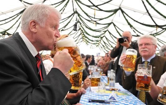 De Beierse premier Horst Seehofer.