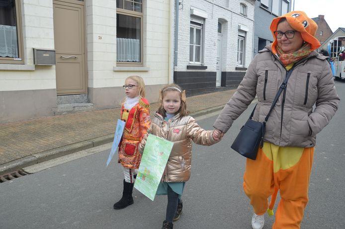 De kinderstoet in Iddergem