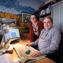 Tirol Outdoor Experience van vader en dochter Arres (rechts) van der Grift en Sanne (links) van der Grift.