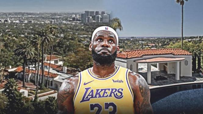 Een nieuw paleis voor de 'King': LeBron James koopt villa in Beverly Hills voor 31 miljoen euro