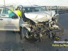Gewonde bij ongeval op A2 bij Waardenburg